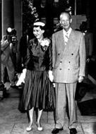 Mamie Dowd Eisenhower & President Eisenhower